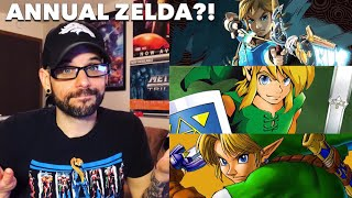 Could LEGEND OF ZELDA become an ANNUAL series? | Ro2R