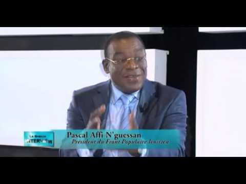 La Grande Interview avec Pascal Affi N'Guessan Président du FPI