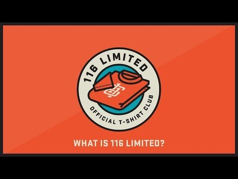 116 Limited: The Official T-shirt Club - How it Works