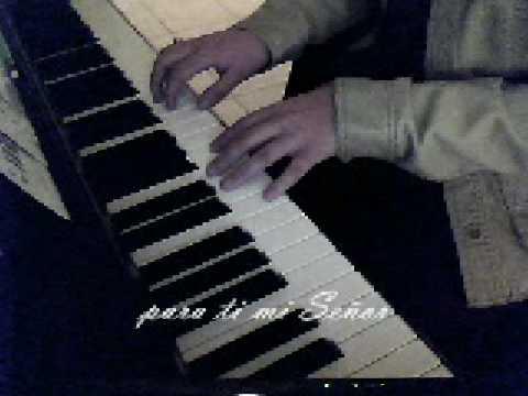 Quiero tocar el Borde de tu manto…(piano y voz)