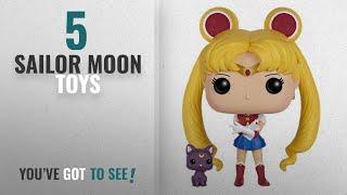 Top 10 Sailor Moon Toys [2018]: Funko POP Anime: Sailor Moon with Luna Action Figure