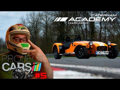 Project Cars #5 Modo Carreira | Caterham Academy  (60 FPS)
