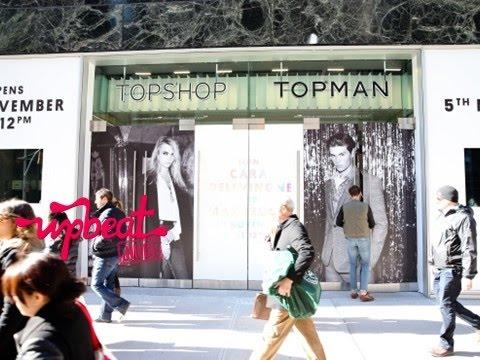 Topshop Topman Opening In NYC