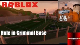 "Roblox: JailBreak: The ""Hole"" in the New Criminal Base"