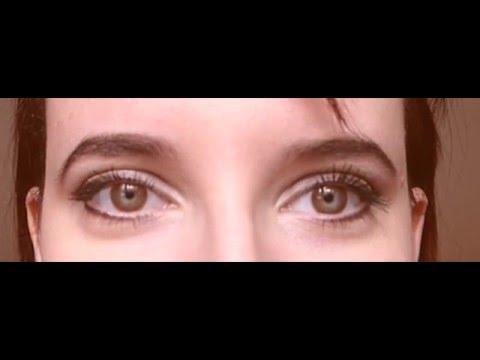 Глаза двигаются в разные стороны!