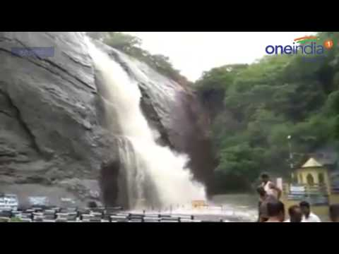 Bathing Banned in Courtallam Falls - Oneindia Tamil