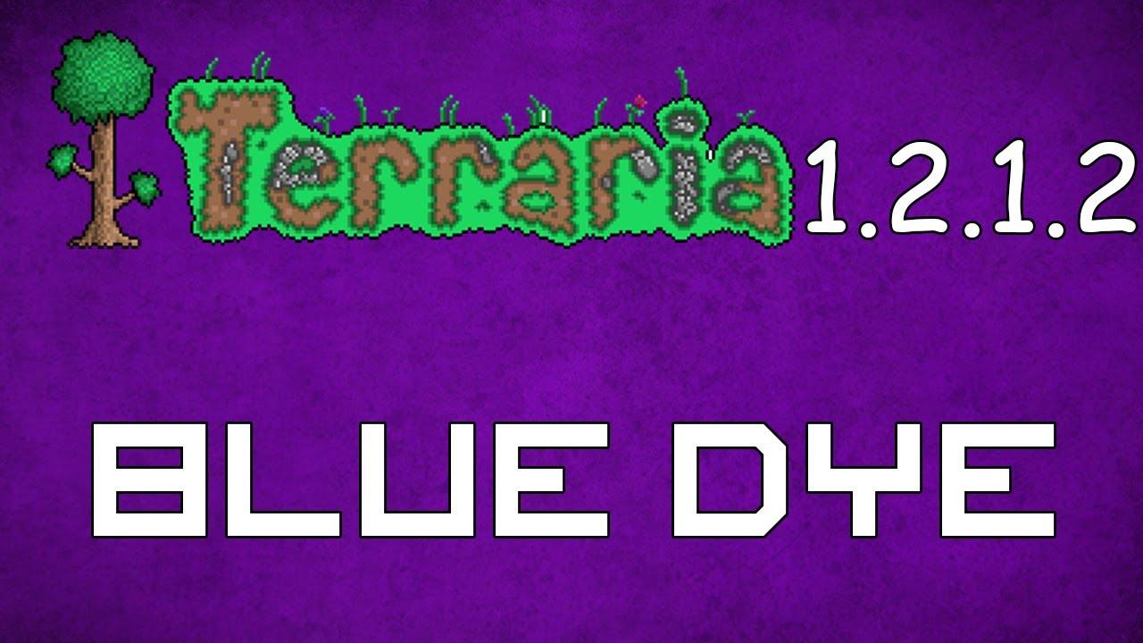 Blue Dye 1 Blue Dye Terraria 1.2.1.2