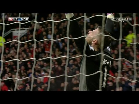 David De Gea Vs. Manchester City 14-15 [Home] [HD 720p]