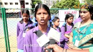 Velammal's Students Tribute To Kalam