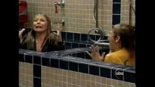 Kelly Ripa and Faith Ford wet in a hottub with wetlook