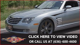 2004 Chrysler Crossfire || For Sale