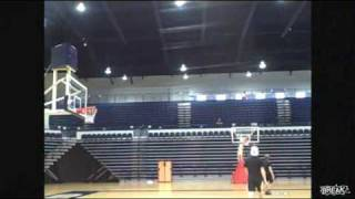 OMG Amazing Trick Shot From Behind Bleachers !!!