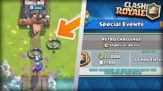 NEW TRAP CARD LEAKED!? RETRO ROYALE CHALLENGE!? | Clash Royale NEW 2017 Potential Update LEAKED!