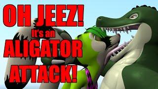 Altaz Alligator ate Amp!