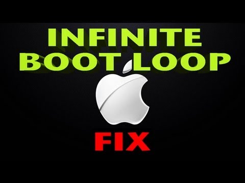 HOW TO: Unbrick iPhone   EXIT Boot Loop on the iPhone. iPad and iPod Touch   FIX infinite reboot