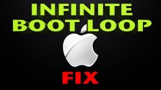 HOW TO: Unbrick iPhone   EXIT Boot Loop on the iPhone, iPad and iPod Touch   FIX infinite reboot