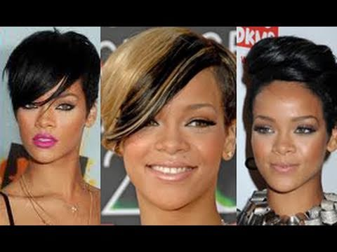 hommade wig rihanna pixie short funky choppy 27 pieces