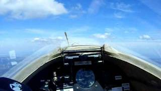 Libelle Glider in insane Thermal 1000 feet per minute
