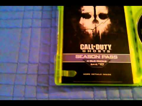 Un-boxing Call of Duty Ghost & X12 Turtle Beaches