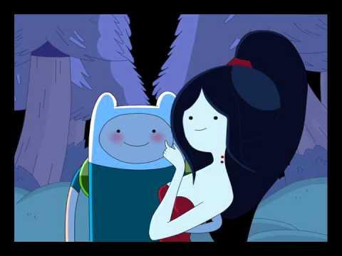 Finn And Marceline Kissing :: VideoLike