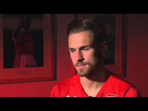 Aaron Ramsey interview part 1