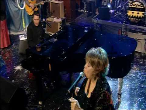 Dave Swift on Bass with Jools Holland backing Mavis Staples