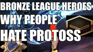 BRONZE LEAGUE HEROES #77 | Dirty. Cheesy. Protoss. -  Jahkra v NoobfromAU