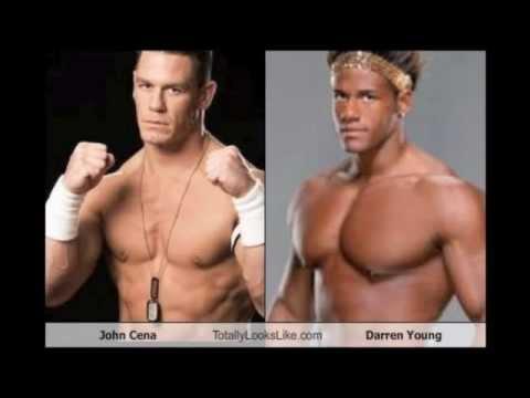 John Cena And Darren Young Darren Young is a Black John