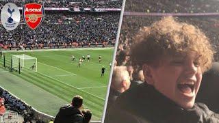 Tottenham 1-1 Arsenal! Premier League Match Day Vlog! North London Derby! Kane penalty!