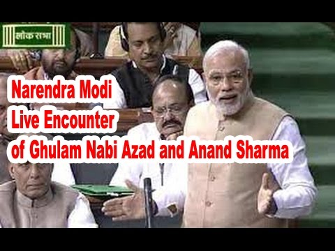 Narendra Modi Takes A Jibe At Ghulam Nabi Azad and Anand Sharma