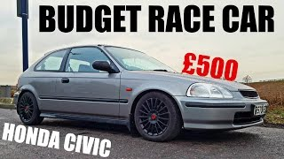 🐒 HONDA CIVIC BUILD Ep1 - BUYING A BUDGET RACE CAR