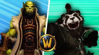 SHAMAN God vs NEW 8.1 Monk! (1v1 Duels) - PvP WoW: Battle For Azeroth 8.1