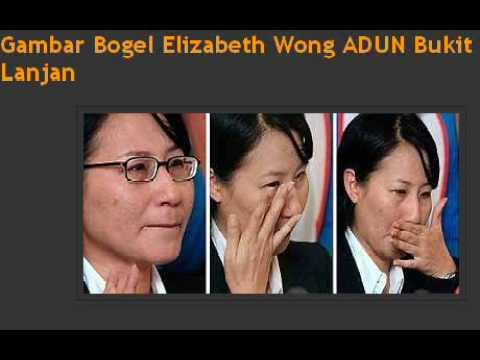 Gambar Bogel Elizabeth Wong ADUN Bukit Lanjan