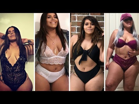 Amazing fashion style with Fashion designer  -  Plus size model