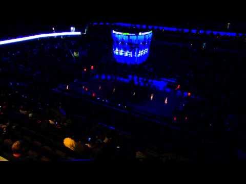 Creighton Basketball Tunnelwalk Arena View