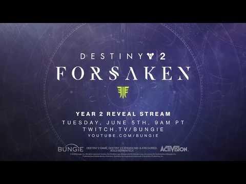 Destiny 2: Forsaken (Teaser-trailer) thumbnail