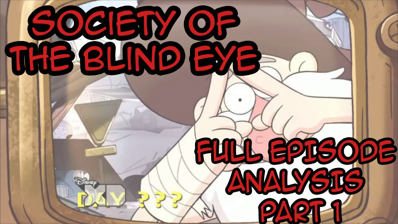 an analysis of the blind society Movie analysis: the blind side self concept there are a lot of scenes that deal with self concept in this movie, but there are a couple important ones the first scene is when mrs tuohy is with her friends at lunch and calls michael her son they think it's some charity work that she's doing but she's dead serious.