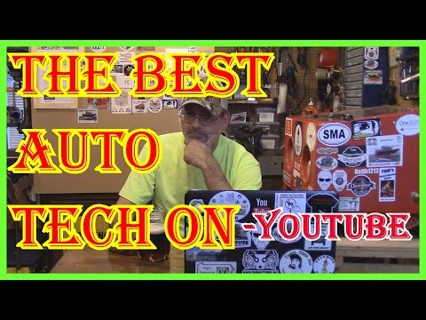 THE BEST AUTO TECH ON YOUTUBE  -  ROBINSONSAUTO CHANNEL REVIEW