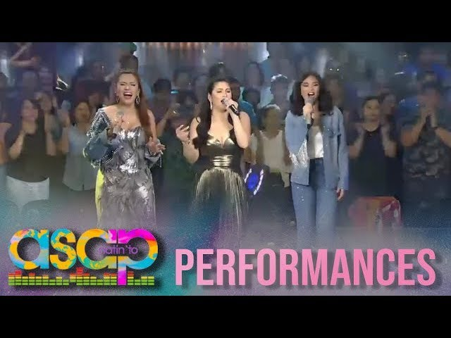 ASAP Natin 'To: Regine, Sarah and Zsa Zsa celebrate the beauty of 90's music on ASAP Natin 'To