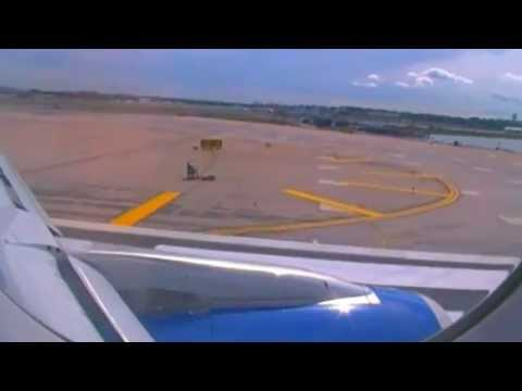 Spirit Airlines A320 Decent, Approach and Landing at New York LaGuardia