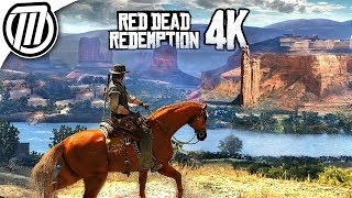 Red Dead Redemption 4K Gameplay - It Looks like PC! | Xbox One X