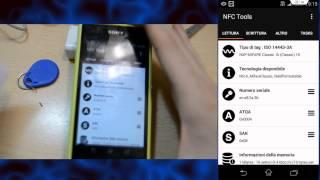 GUIDA - programmare badge rfid con smartphone android nfc