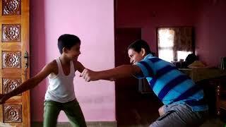 Popular tiger dance