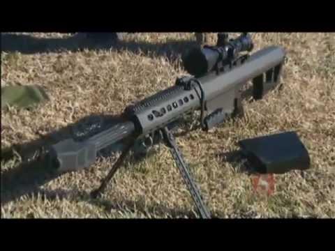 Barrett 50-Cal Rifle Under Fire