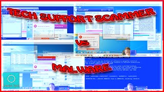 Tech Support Scammer vs Real Malware