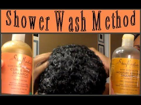 WAVES   How to Wash Shampoo Shower Method