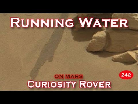 Curiosity Rover Finds Proof Of Running Water On Mars!!