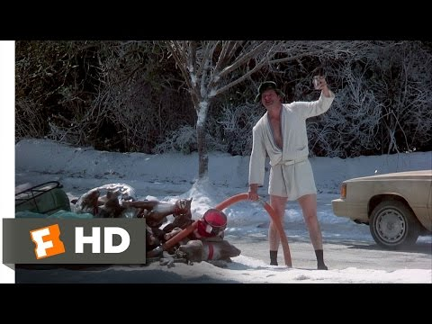 Christmas Vacation (7/10) Movie CLIP - Eddie's Sewage (1989) HD