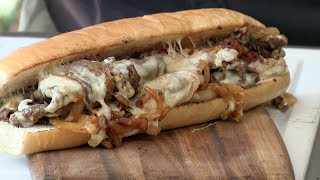 SoCal Cheesesteak Sandwich On The MoJoe Griddle! (Video Recipe)