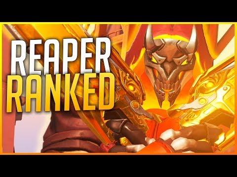 OVERWATCH RANKED: DEFENSA TITÁNICA CON REAPER! | Makina